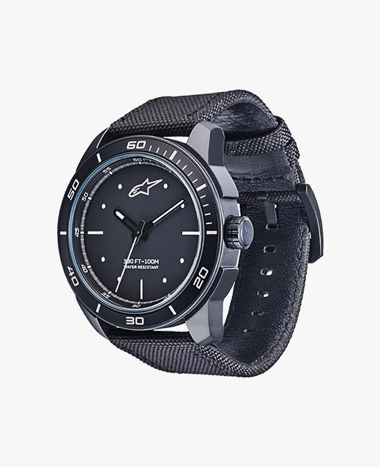 Alpinestars Tech Watch 3H black nylon strap/часы