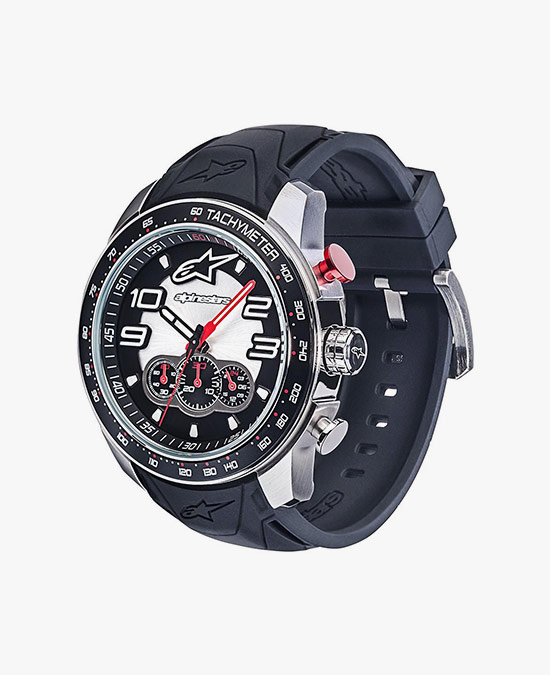 Alpinestars Tech Watch Chrono steel-black/steel/часы