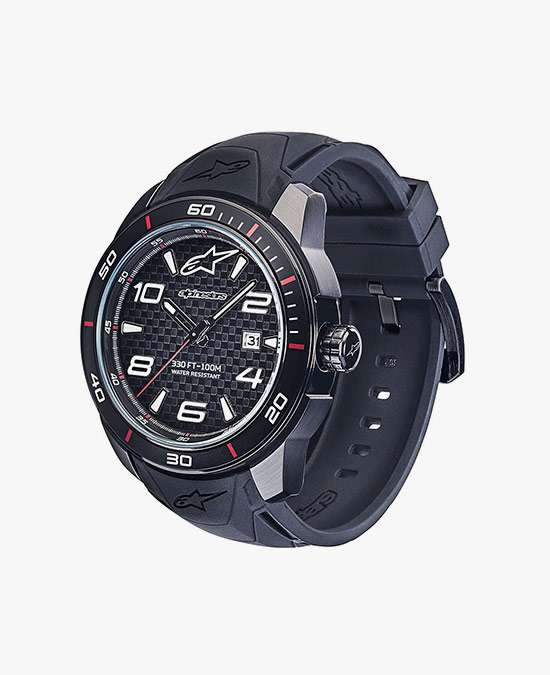 Alpinestars Tech Watch 3H silicon strap black/часы