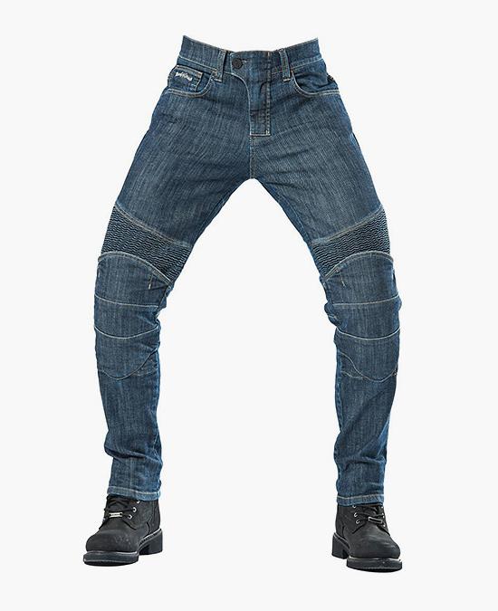 Biker Jeans Indıgo Denim Flexi D-KEV2