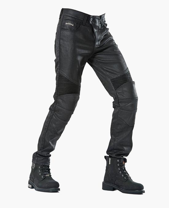 Biker Jeans Black Iron Flexi D-Kev-3