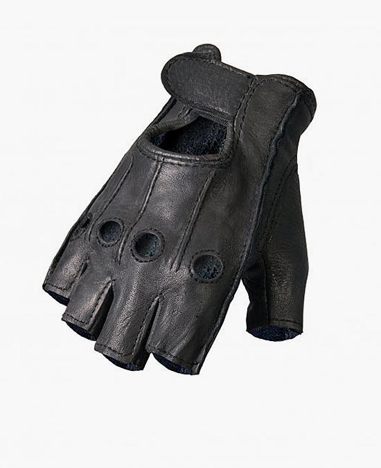 Hot Leathers Gloves Deerskin Fingerless/перчатки