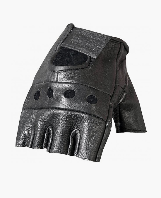 Hot Leathers Gloves Fingerless/перчатки