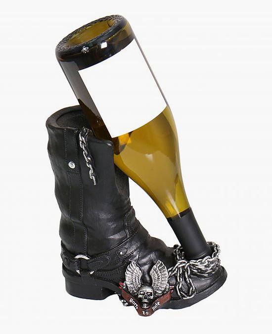 Hot Leathers Bottle Holder Biker Boot/держатель для бутылок