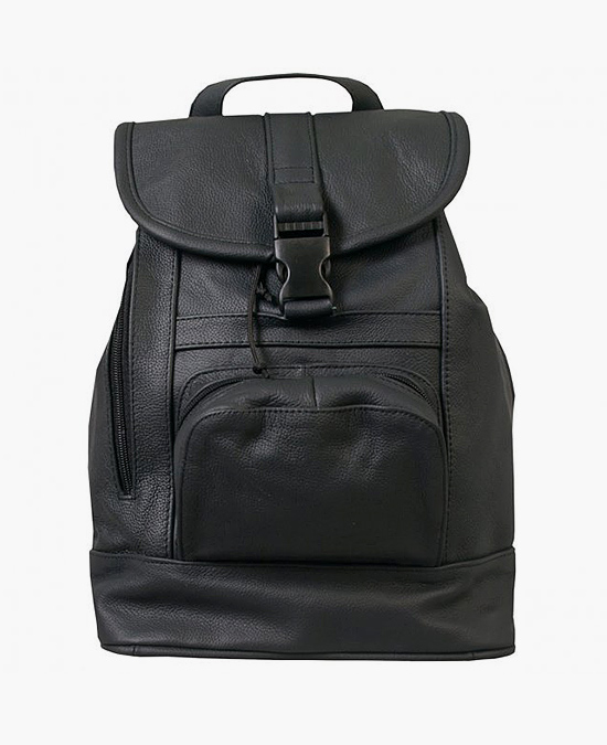 Hot Leathers Backpack Genuine Leather 12x13x6/рюкзак