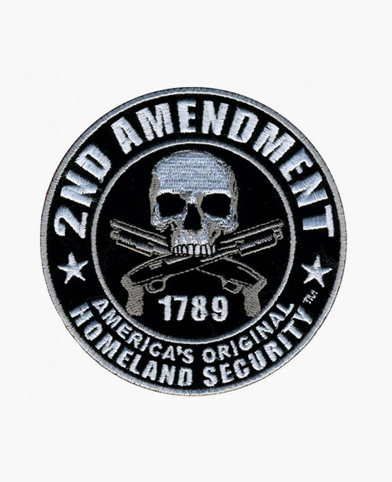 Hot Leathers Patch 2nd Amendment Homeland Security/нашивка