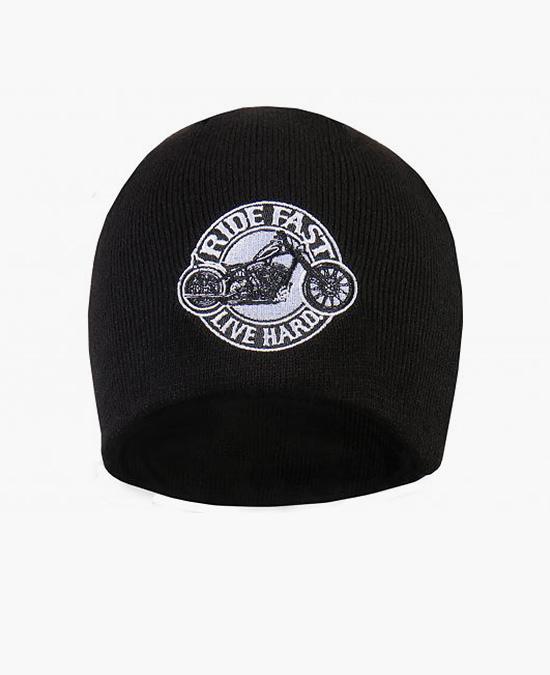 Hot Leathers Circle Bike Beanie/шапочка