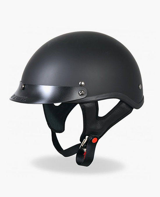Hot Leathers Helmet Dot Flat/шлем