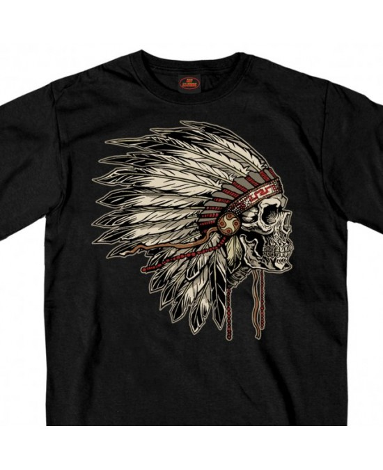 Hot Leathers Earthtones Headdress T-shirt/футболка мужская