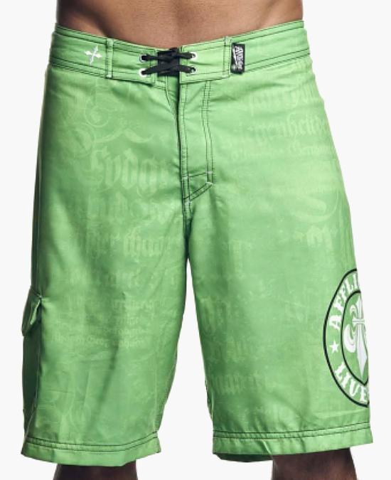 Affliction Break Shorts/шорты мужские