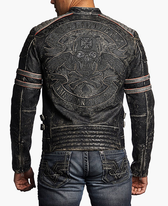 Affliction Fast Lane Jacket/куртка мужская