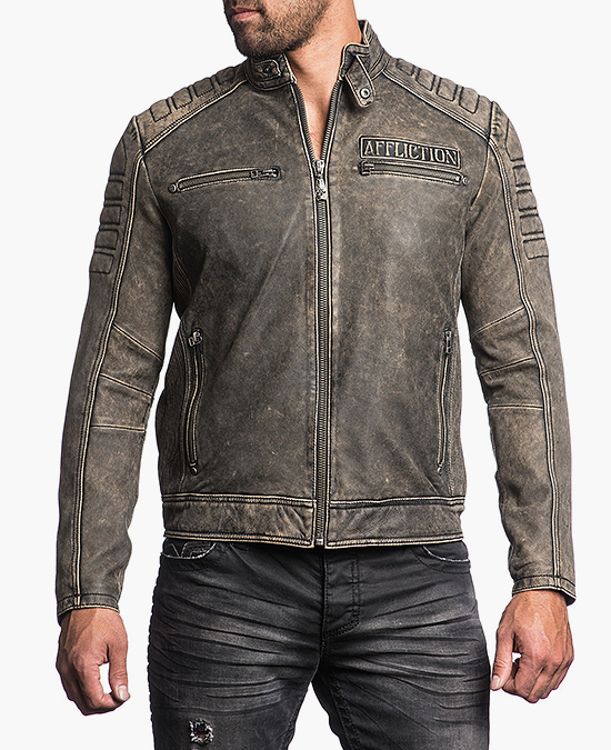 Affliction Iron Head Jacket/куртка мужская