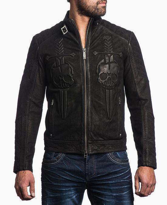 Affliction Midnight Hour Jacket/куртка мужская
