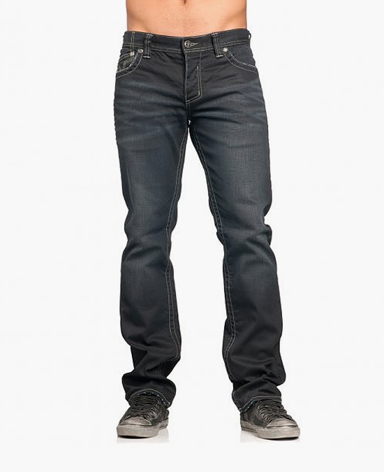 Affliction Ace Cathedral Fleur jeans/джинсы мужские