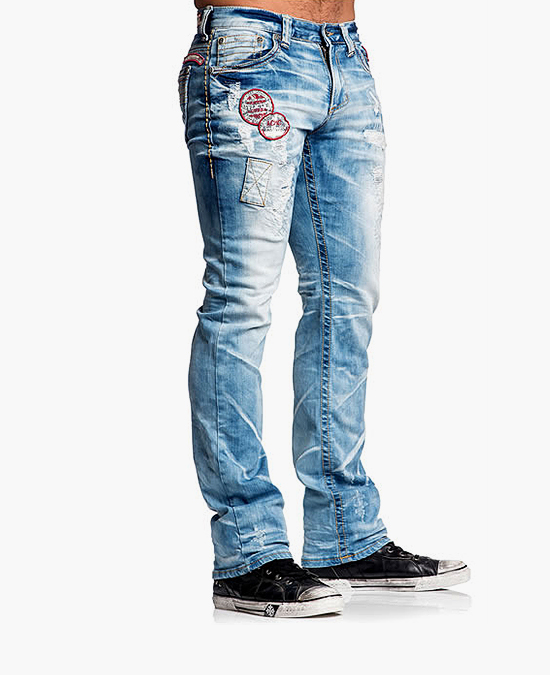 Affliction Ace Dent Trenton Jeans/джинсы мужские