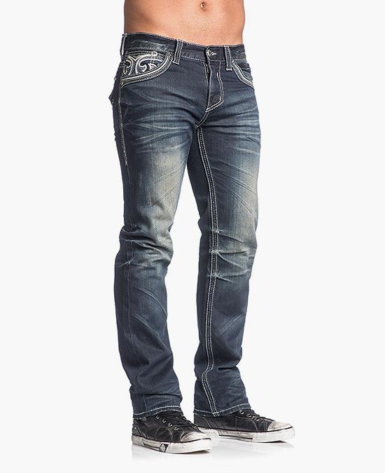 Affliction Ace Fleur Stanton jeans/джинсы