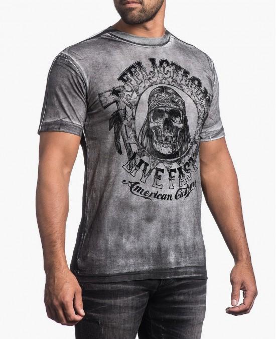 Affliction AC Hatchet Tee/футболка мужская
