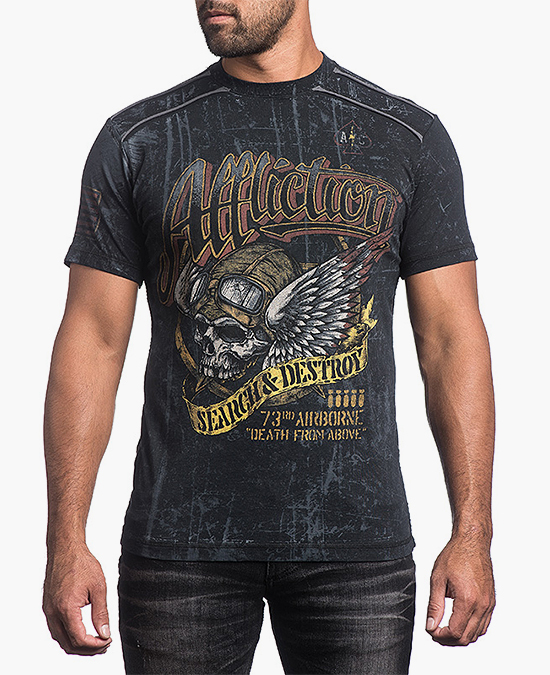 Affliction Bombardier Tee/футболка мужская
