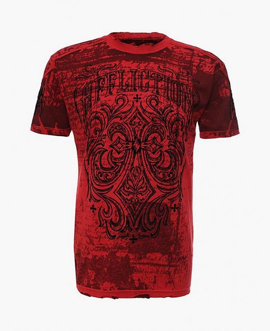 Affliction Ironside Taping Tee/футболка мужская