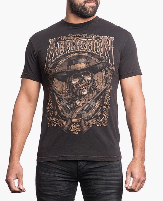 Affliction Wild Bill Tee/футболка мужская
