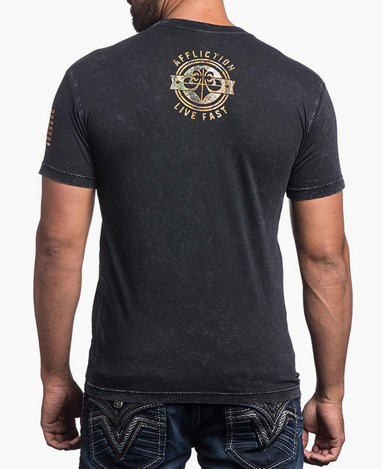 Affliction Brave Defender Tee/футболка мужская