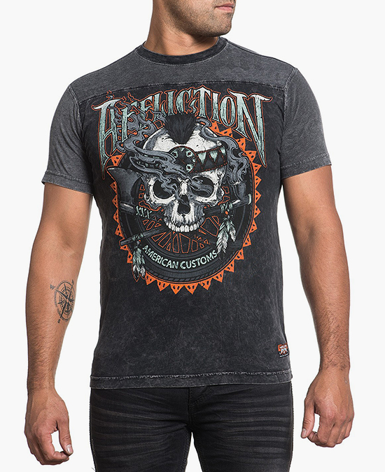 Affliction Cherokee FB Tee/футболка мужская