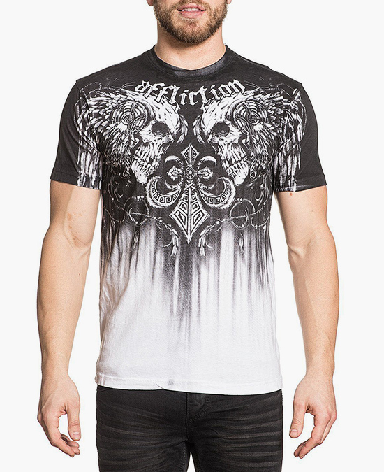 Affliction Tarnished Warrior S/S Tee/футболка мужская