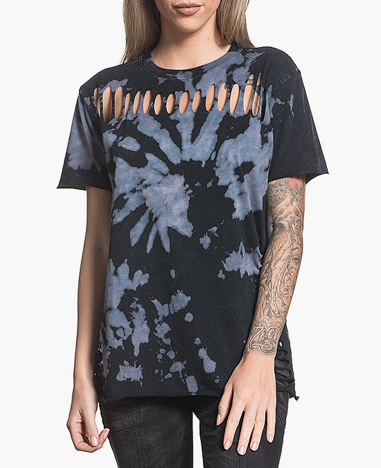 Affliction Women Standard Supply S/S Tee/футболка женская