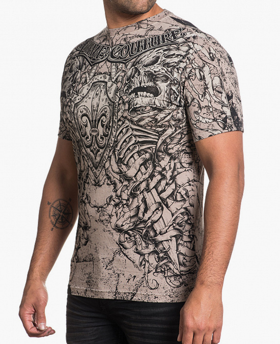 Affliction Alexander The Great S/S Tee/футболка мужская
