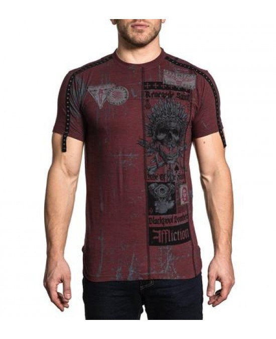 Affliction Falling S/S Tee/футболка мужская