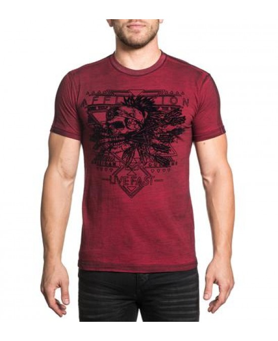 Affliction AC Mohawk S/S Tee/футболка мужская