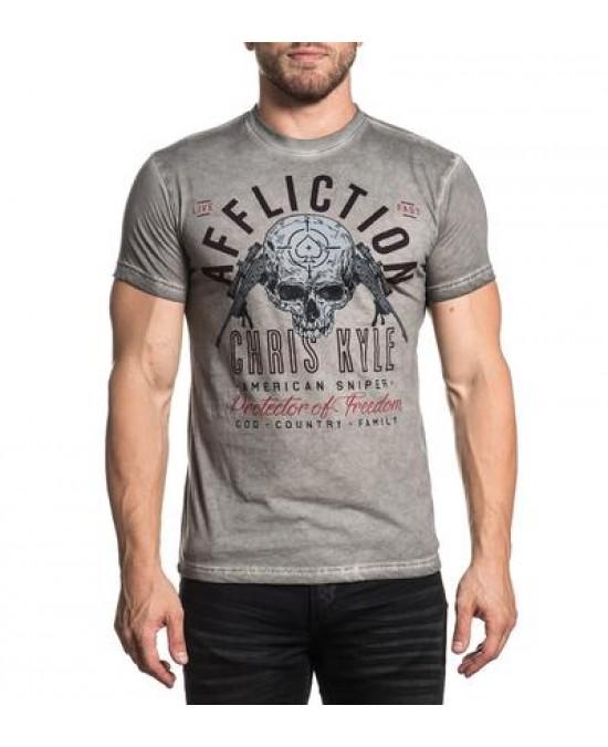 Affliction CK Breathless S/S Tee/футболка мужская