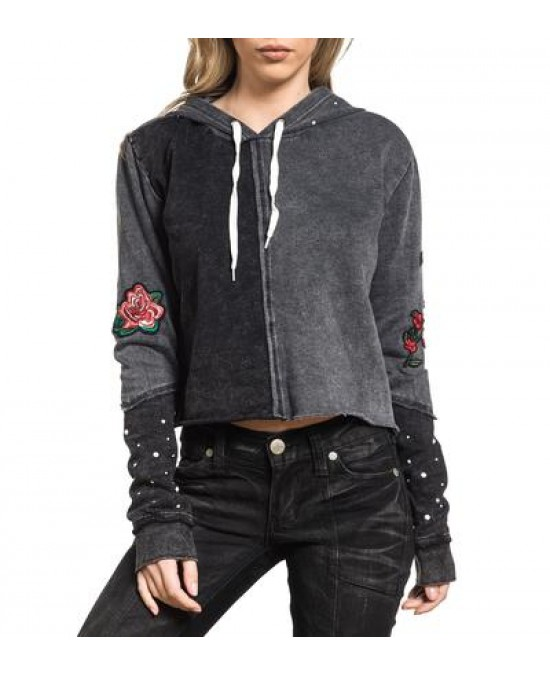 Affliction Women Standard Supply P/O Hood/толстовка женская