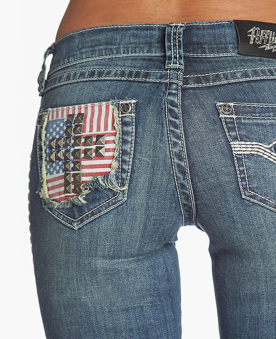 Affliction Jade Brynn Jeans/джинсы женские