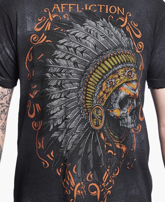 Affliction Apache Tee/футболка мужская