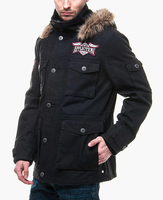 Affliction Ravel Razor Jacket/куртка мужская