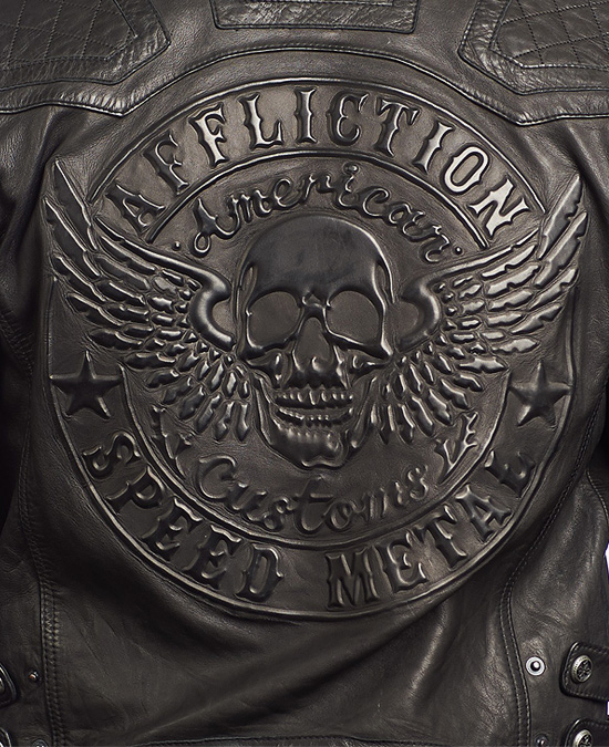 Affliction On Fire Jacket/куртка мужская
