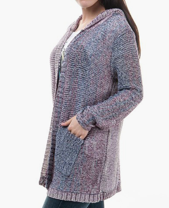 Chaser Women L/S Hooded Open Cardigan/кардиган женский