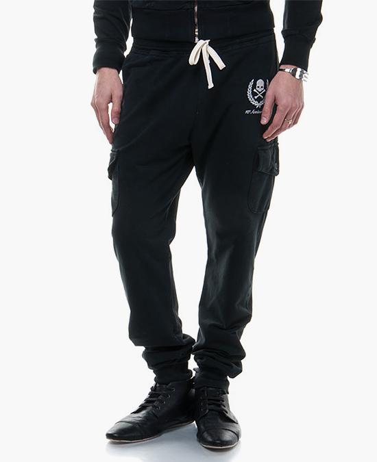Hydrogen Pantalone tuta cargo skull/спортивные штаны мужские