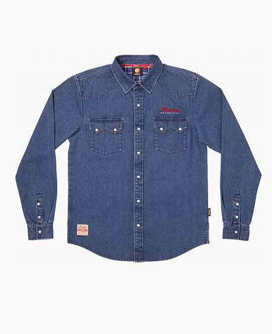 Indian Denim Shirt/рубашка