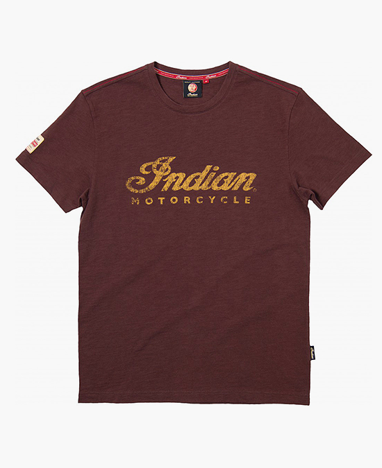 Indian Brown Logo T-shirt/футболка
