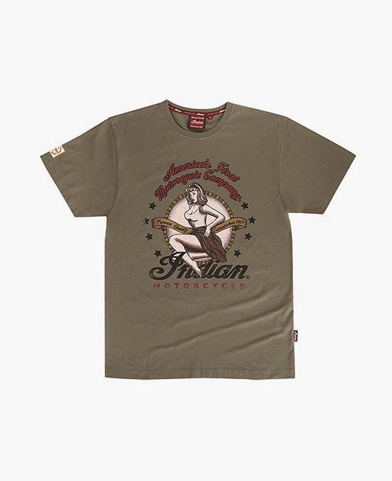 Indian Bomber Girl Tee/футболка