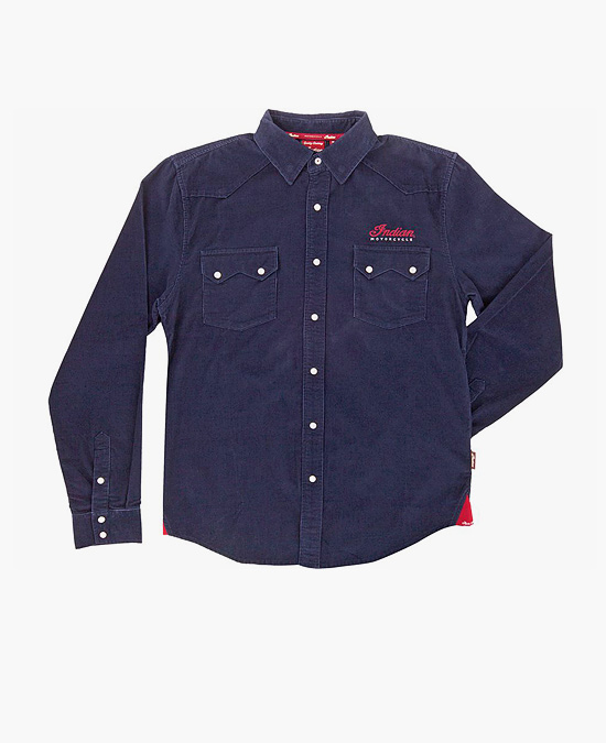 Indian Pincord Shirt/рубашка