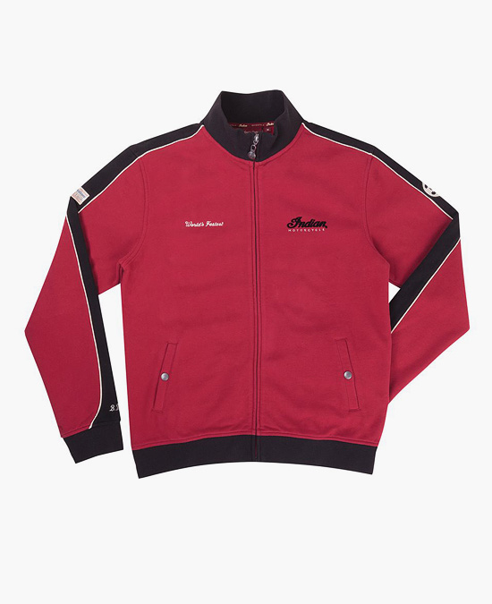 Indian Heritage Munro Zip Thru Sweatshirt/толстовка