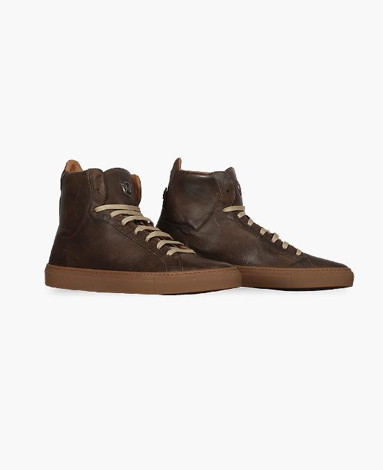 Matchless Lewis High Man Shoes/Кеды мужские кожаные