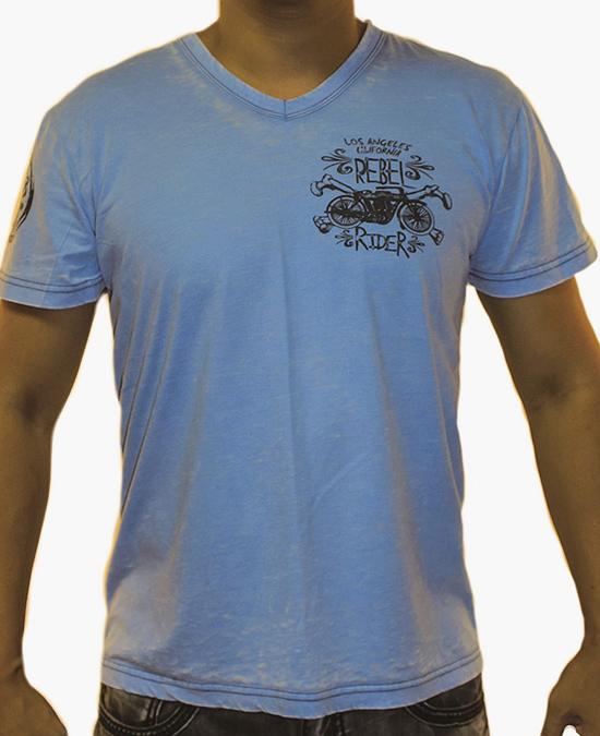 Rebel Spirit Men Rebel Rider S/S Tee/футболка мужская