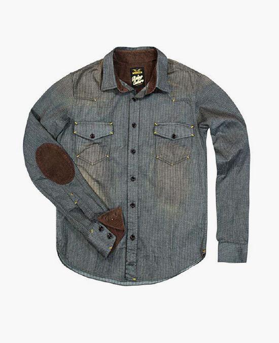 ROKKER City Ranger Shirt 01A/рубашка мужская