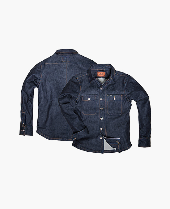 ROKKER Denim Rider Shirt Raw/рубашка мужская