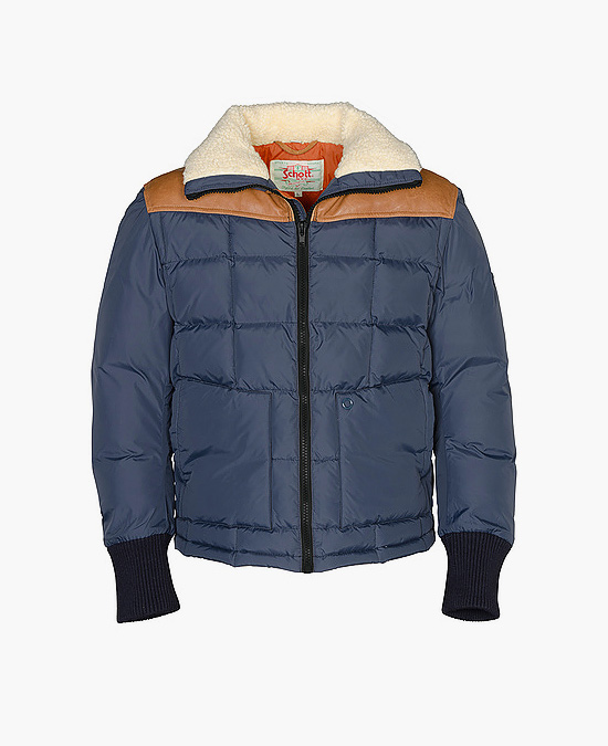 Schott Down Filled Nylon Jacket