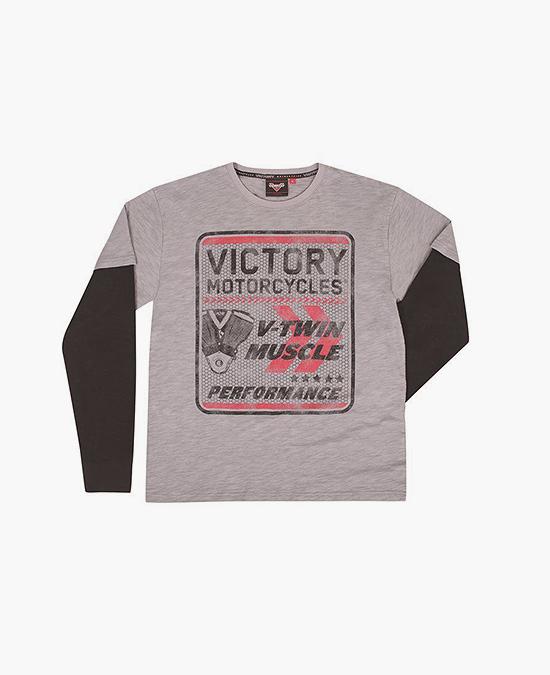 Victory V-twin 2-in-1 Tee/футболка